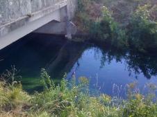 Fiume Cragno, Sella di Rivignano a Valle fine del NK, Luglio 2012