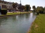 rio Grava, San Floreano di Buja a monte della piazza, Agosto 2012