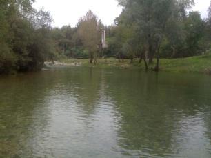 Fiume Natisone, Oculis, ottobre 2012