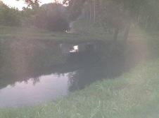 Vista del ponticiello e del canale