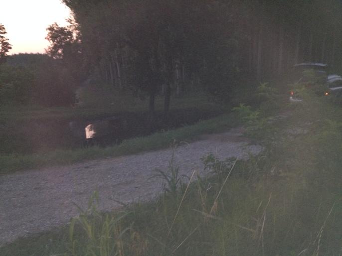 Altra vista del ponticello e del canale